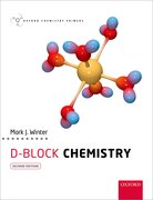 Cover for <i>d</i>-Block Chemistry