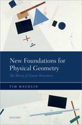 Cover for New Foundations for Physical Geometry