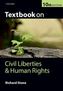 Cover for Textbook on Civil Liberties and Human Rights
