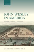 Cover for John Wesley in America