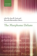 Cover for The Morphome Debate