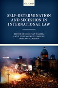 Cover for Self-Determination and Secession in International Law