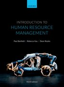 Cover for Introduction to Human Resource Management