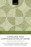Cover for Language and Communication at Work