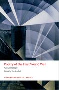 Cover for Poetry of the First World War