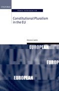 Cover for Constitutional Pluralism in the EU
