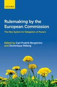 Cover for Rulemaking by the European Commission