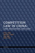 Cover for Competition Law in China