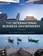 Cover for The International Business Environment