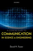 Cover for A Concise Guide to Communication in Science and Engineering - 9780198704232