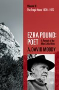 Cover for Ezra Pound: Poet