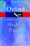 Cover for The Oxford Companion to Modern Poetry in English