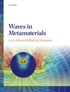 Cover for Waves in Metamaterials