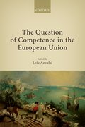 Cover for The Question of Competence in the European Union