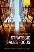 Cover for Achieving a Strategic Sales Focus