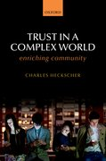 Cover for Trust in a Complex World