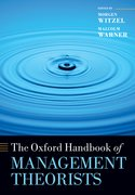 Cover for The Oxford Handbook of Management Theorists