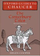 Cover for Oxford Guides to Chaucer: The Canterbury Tales
