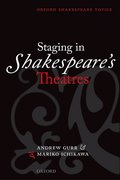 Cover for Staging in Shakespeare