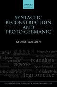 Cover for Syntactic Reconstruction and Proto-Germanic
