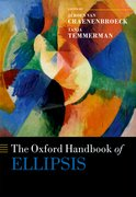 Cover for The Oxford Handbook of Ellipsis