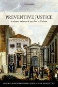 Cover for Preventive Justice