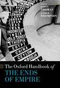 Cover for The Oxford Handbook of the Ends of Empire - 9780198713197