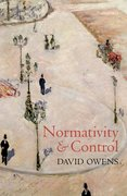 Cover for Normativity and Control