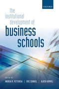 Cover for The Institutional Development of Business Schools