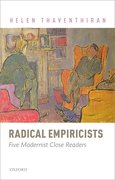 Cover for Radical Empiricists