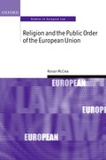 Cover for Religion and the Public Order of the European Union