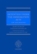 Cover for Detention under the Immigration Acts: Law and Practice