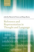 Cover for Reference and Representation in Thought and Language