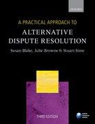 Cover for PRAC APPR ALTERN DISPUTE RESOL 3E APA P