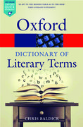 Cover for The Oxford Dictionary of Literary Terms - 9780198715443