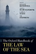 Cover for The Oxford Handbook of the Law of the Sea