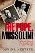 Cover for The Pope and Mussolini