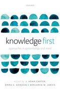 Cover for Knowledge First
