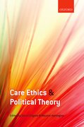 Cover for Care Ethics and Political Theory