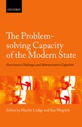 Cover for The Problem-solving Capacity of the Modern State