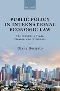 Cover for Public Policy in International Economic Law