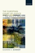 Cover for The European Court of Justice and the Policy Process