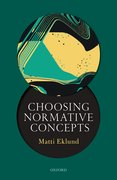 Cover for Choosing Normative Concepts
