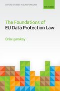 Cover for The Foundations of EU Data Protection Law