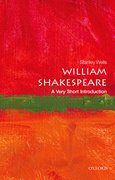 Cover for William Shakespeare: A Very Short Introduction