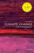 Cover for Climate Change: A Very Short Introduction
