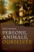Cover for Persons, Animals, Ourselves