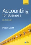 Cover for Accounting for Business