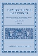 Cover for Demosthenis Orationes IV