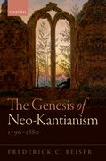 Cover for The Genesis of Neo-Kantianism, 1796-1880